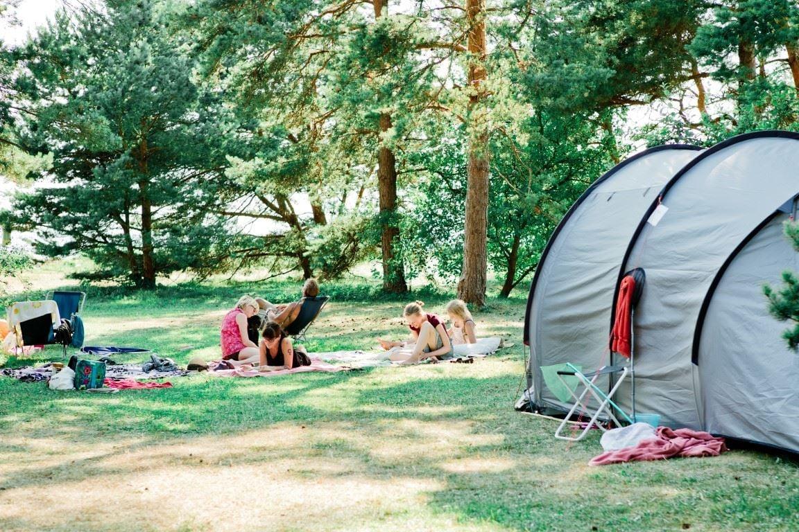 Björkhaga caravan- and motorhome camping