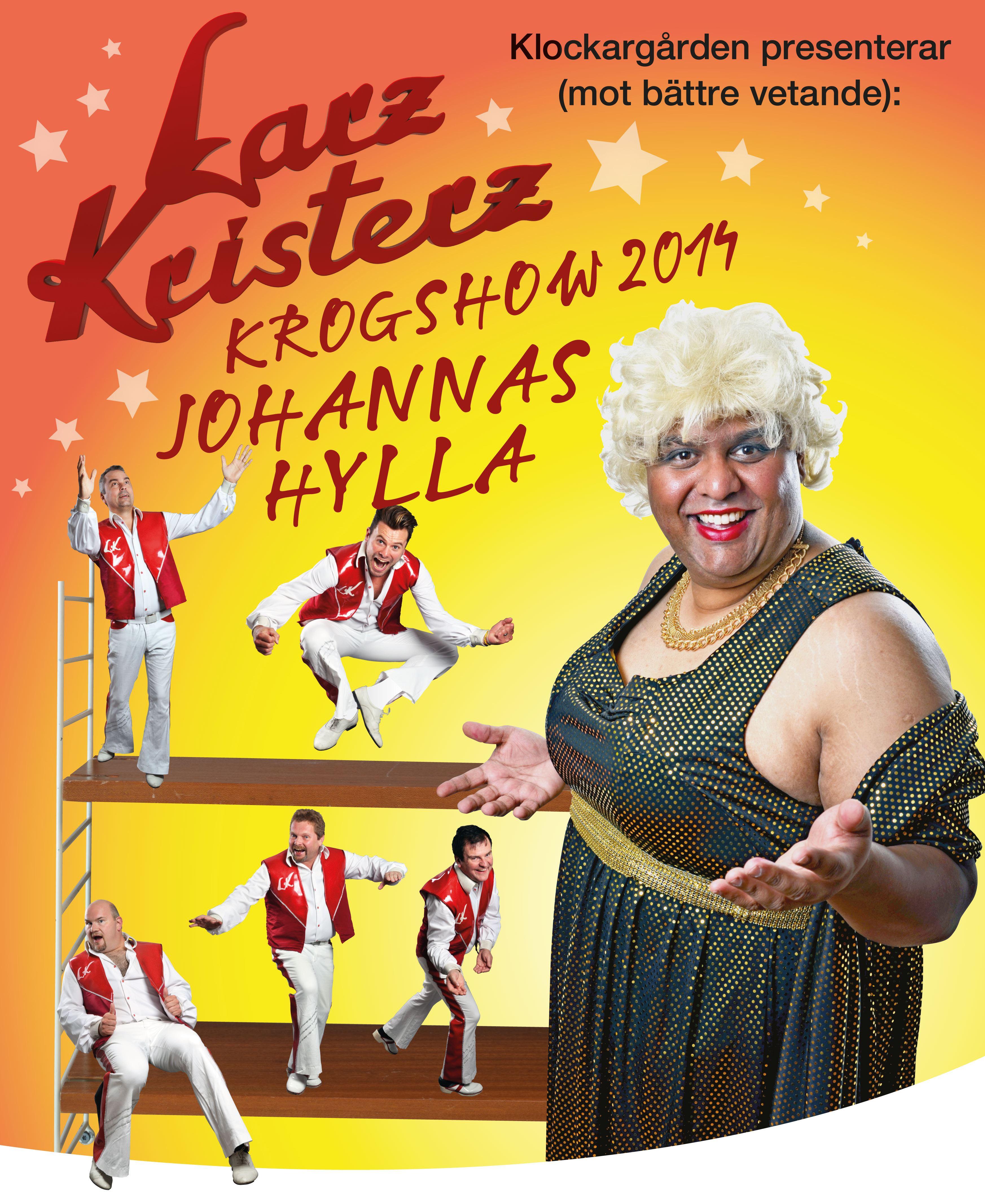 Larz Kristerz krogshow med julbord