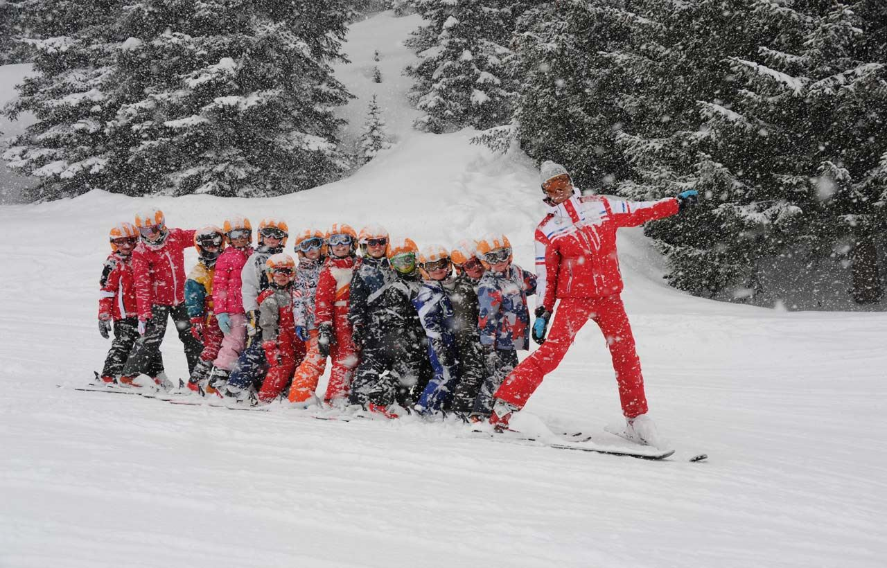 ESF 1650: Group ski lessons - Children between 6 and 11 years old