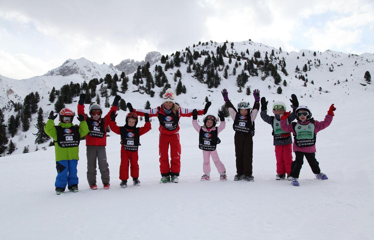 ESF 1650 : Cours de ski collectifs Enfants - de 6 à 11 ans