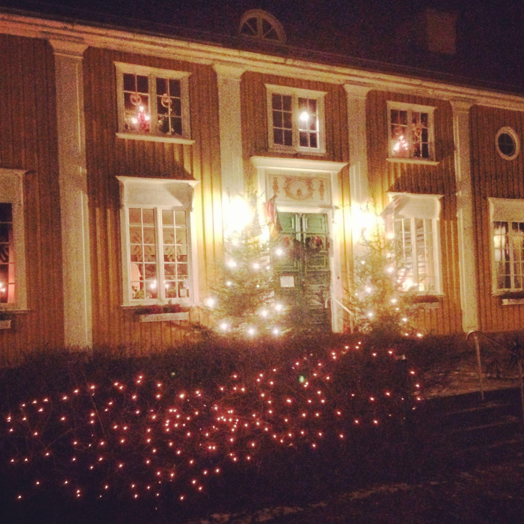 Johan Palmborg, Julstämmning på Wärdshuset