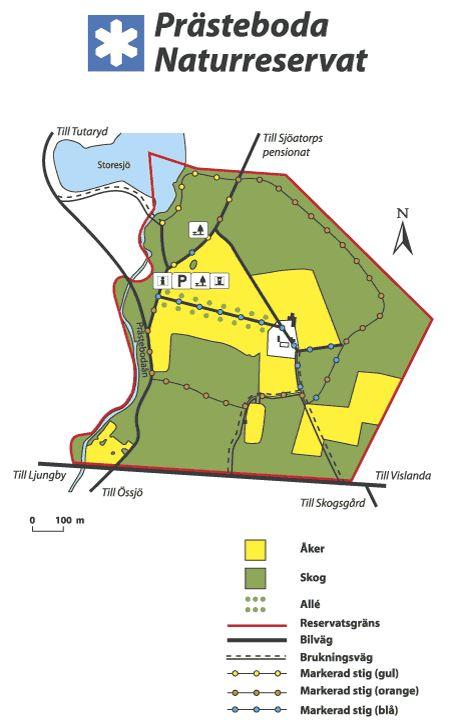 © Länsstyrelsen Kronobergs län, Prästeboda Naturschutzgebiet