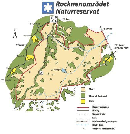 © Länsstyrelsen Kronobergs län, Rocknenområdet naturreservat