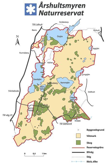 © Länsstyrelsen Kronobergs län, Vandra i Årshultsmyrens naturreservat