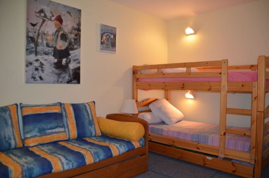 3 Rooms 6 Pers ski-in ski-out / ALPAGES 601