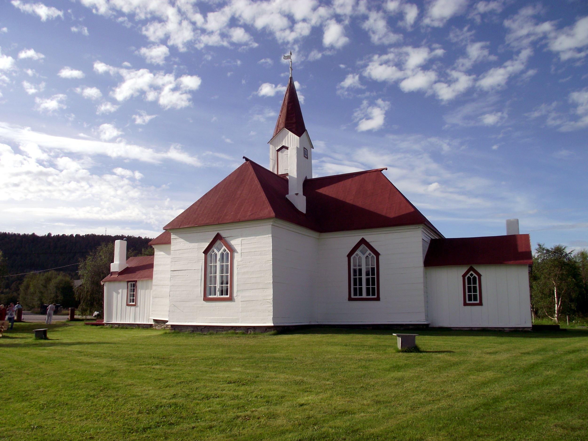 WooteleF,  © WooteleF, Karasjok gamle kirke