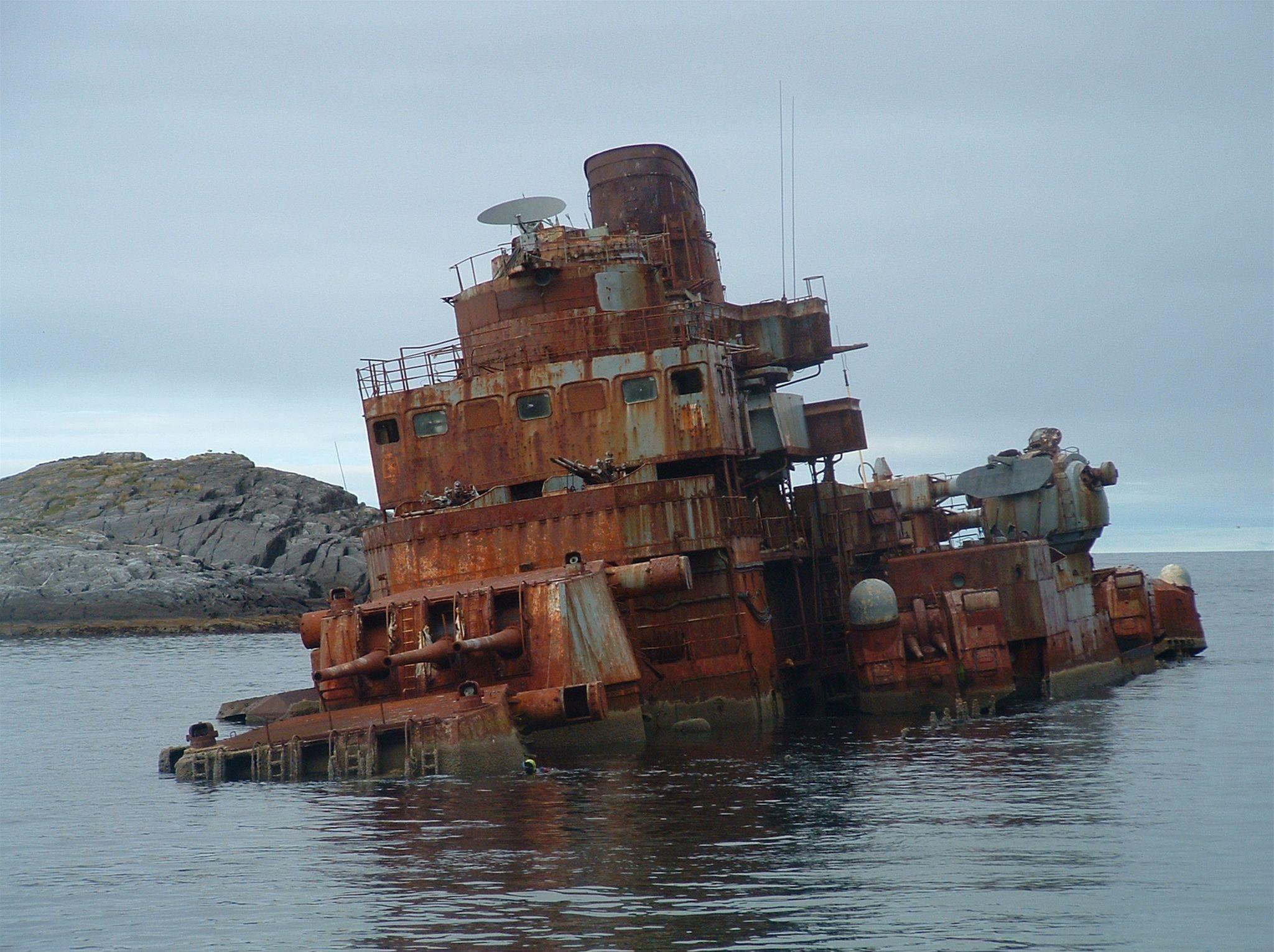 FL3JM,  © FL3JM, Das kriegsschiff