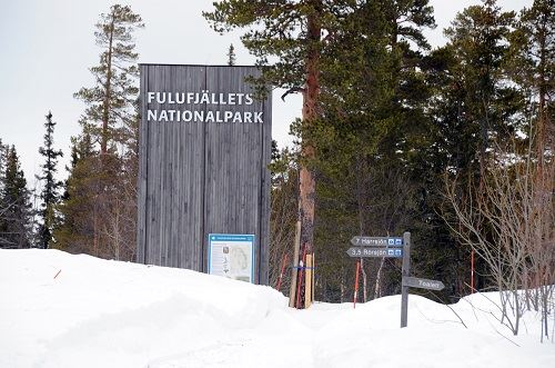 Nisse Schmidt, Fulufjällets Nationalpark