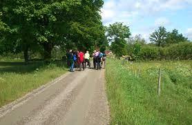 """Walking trail """"Västra Sigfridsleden"""" 170 km."""