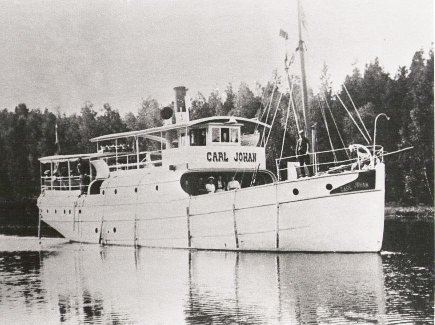 Ångbåten Carl Johan