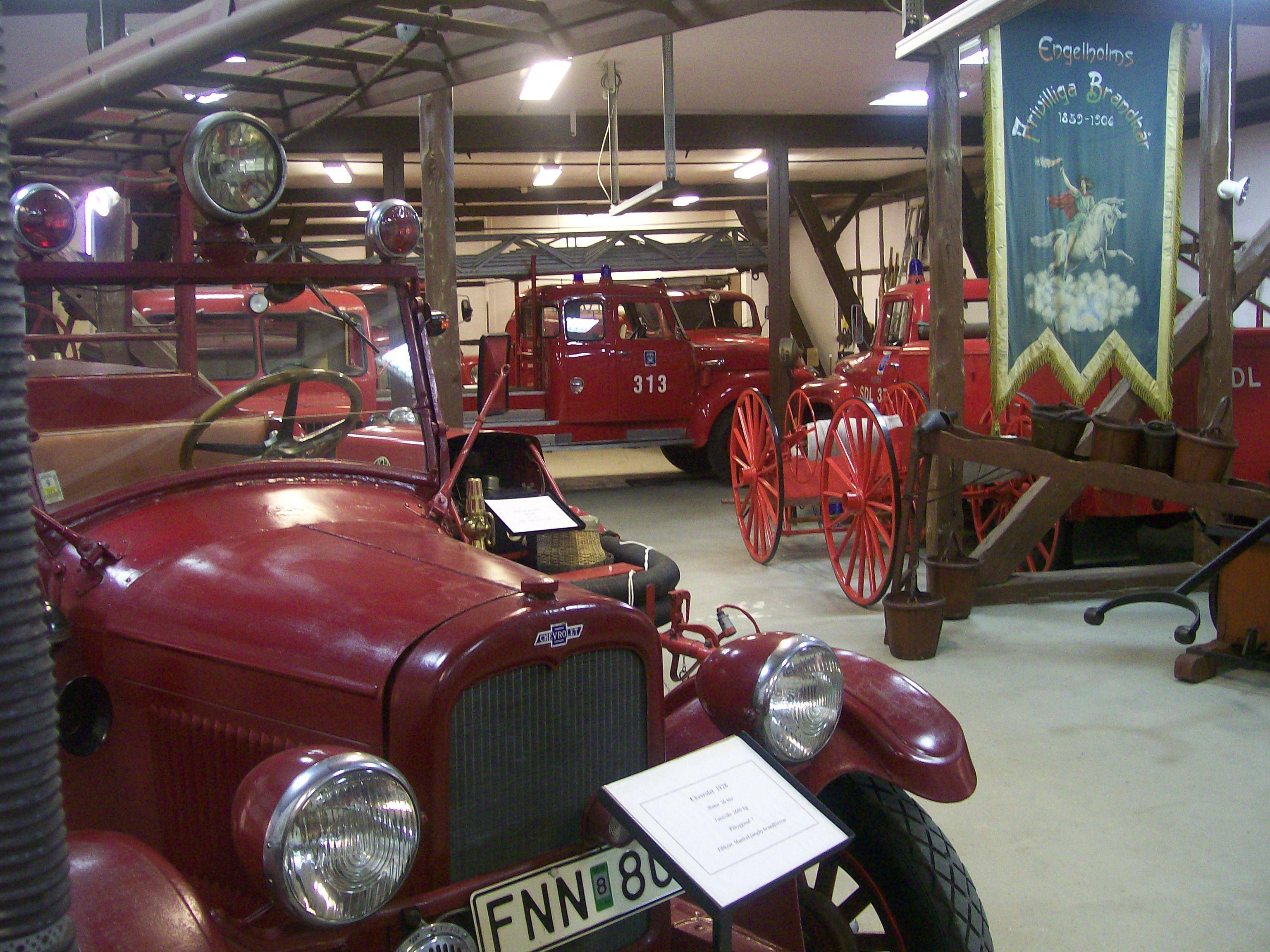 Bengt Åke Bengtsson, Heagården, Heimat- und Feuerwehrmuseum