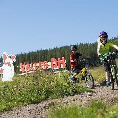 Children's biking