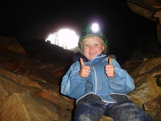 Grottevandring i Setergrotta
