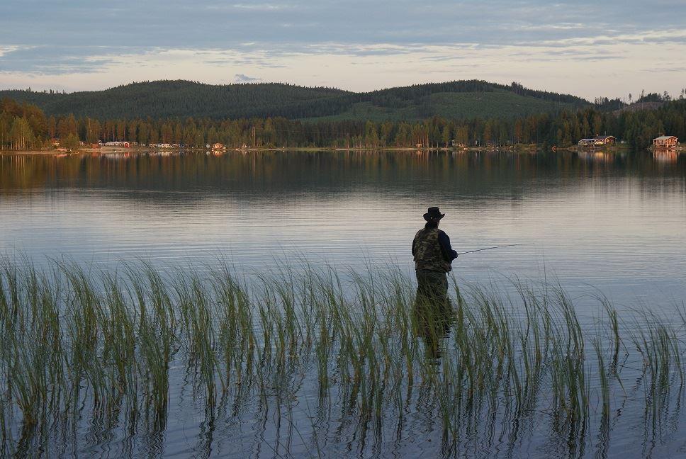 Fina fiskevatten i Bjurholm