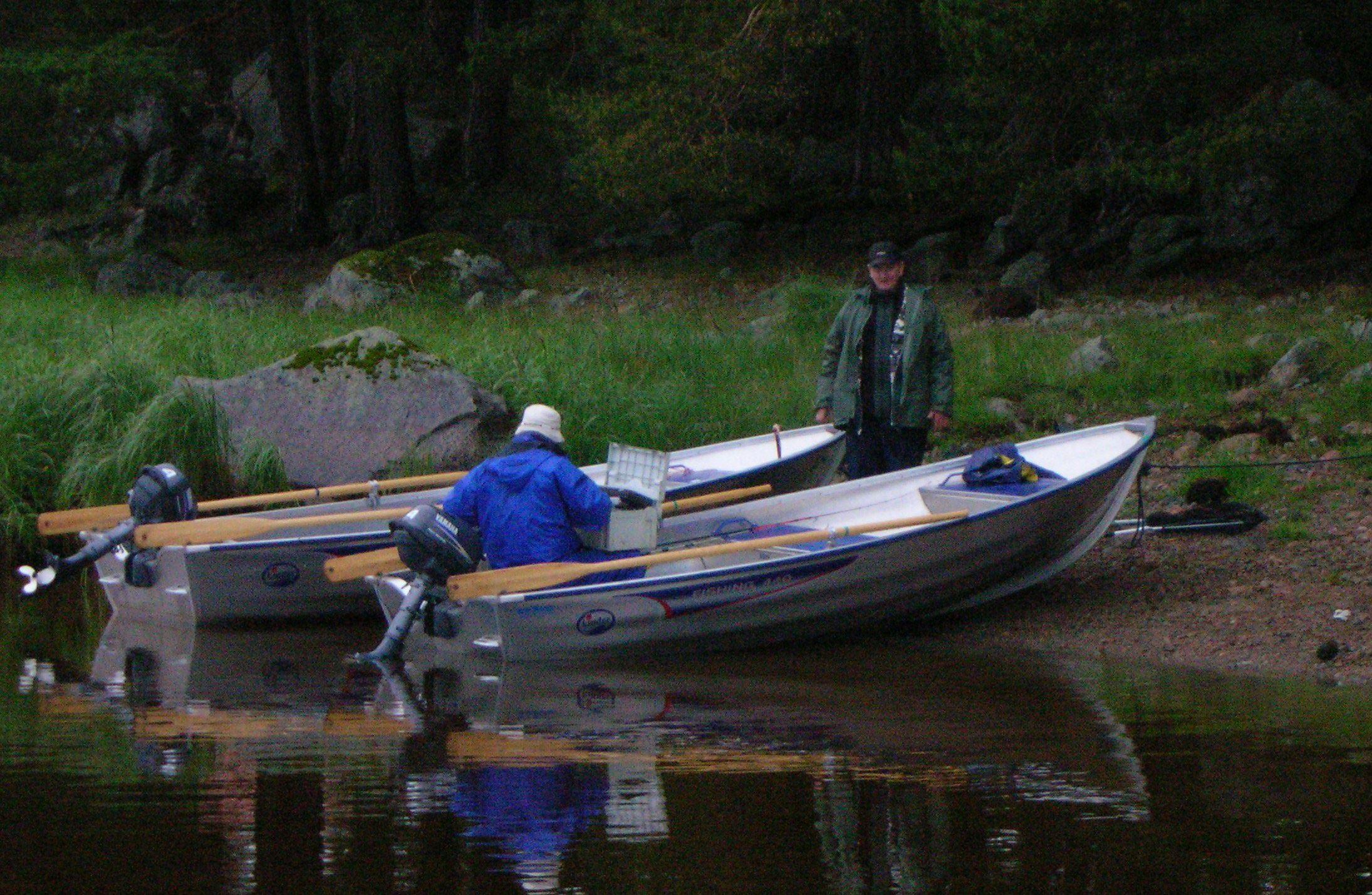 Foto: Bengtsgård,  © Copyright, Fishing at Bengtsgård - By
