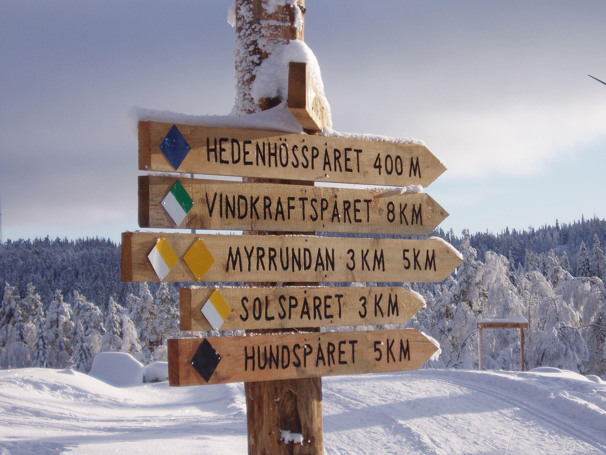 Ljungåsen cross-country tracks