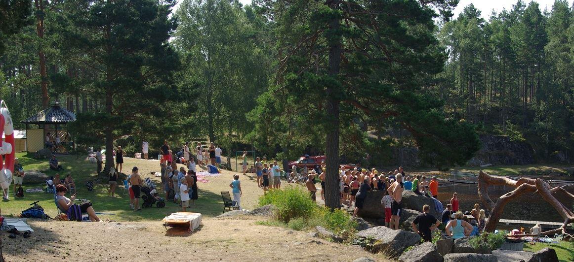 Samhällsföreningen,  © Samhällsföreningen, Hesjöns badplats