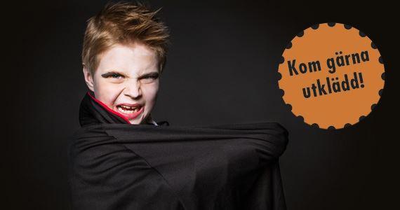 Halloween på Järvzoo