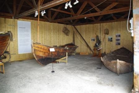 Båtmagasinet i gamla cementmagasinet