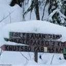 Knutsbo fäbodar ski track