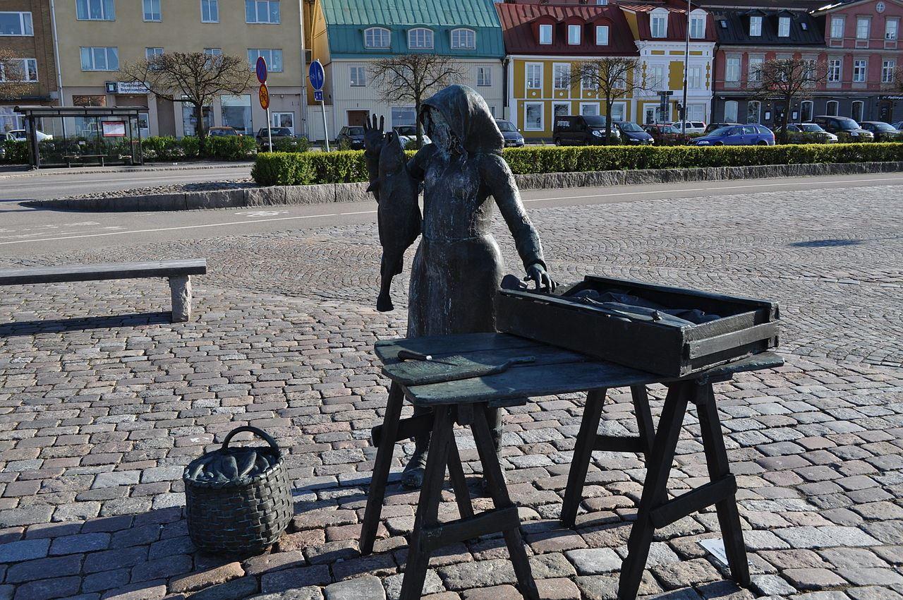 Statue - Fiskargumman