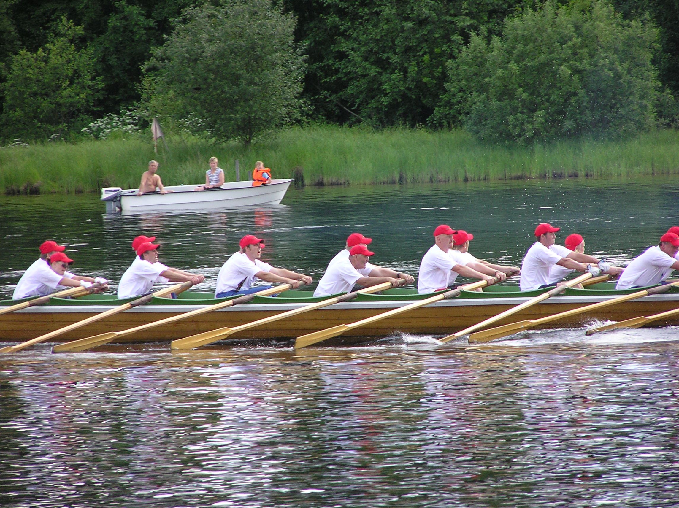 Church Boat Race, Rättvik