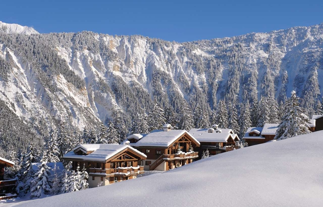 8 rooms 14 people ski-in ski-out / LES CHALETS DU PORTETTA: CHALET CHAMOIS (mountain of exception)