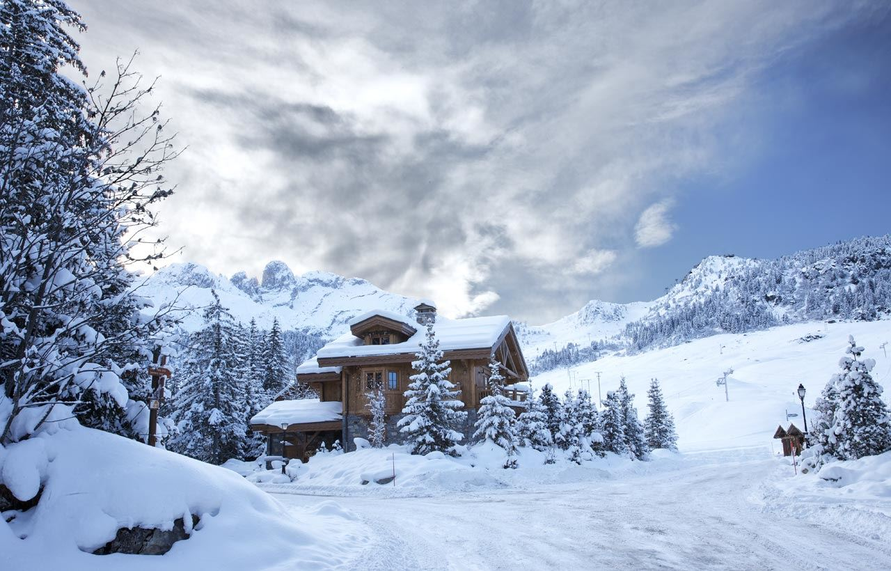 6 rooms 10/12 people ski-in ski-out / LES CHALETS DU PORTETTA: CHALET BLANCHOT (mountain of exception)