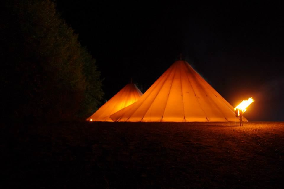 Tent in Hafjell