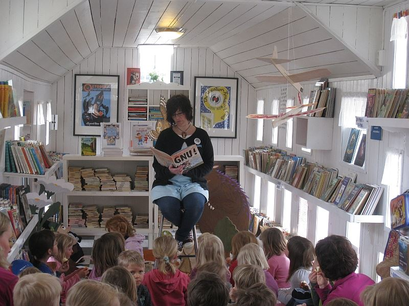 Children's Book Town in Hafjell
