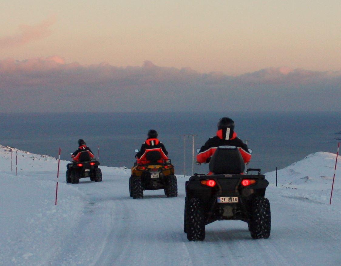 North Cape ATV-safari