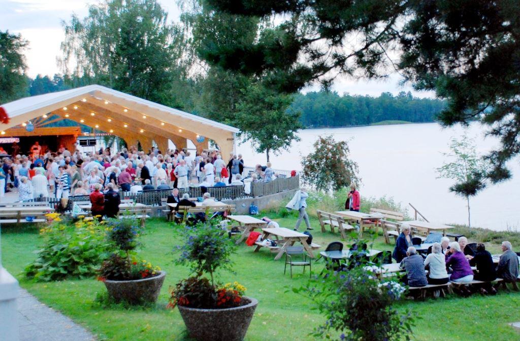 Vallsjöbaden outdoor dance
