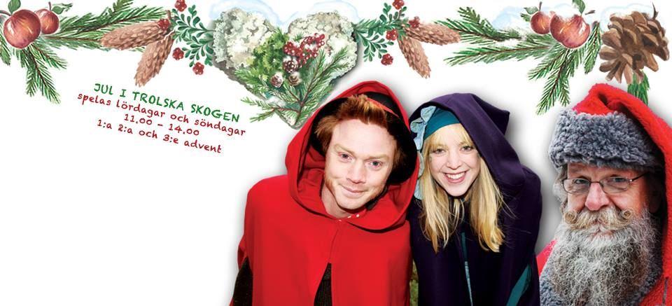 Jul i Trolska Skogen