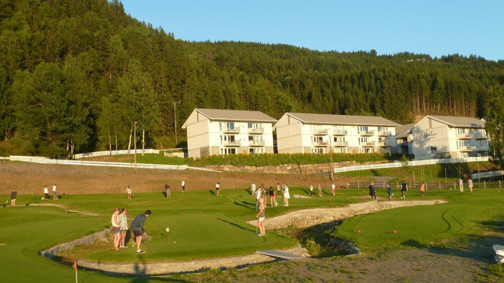 Mini golf in Hafjell
