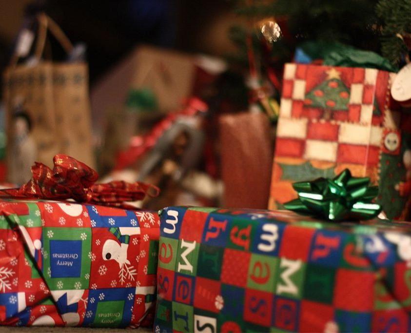 Julklappsförsäljning på Spötorget