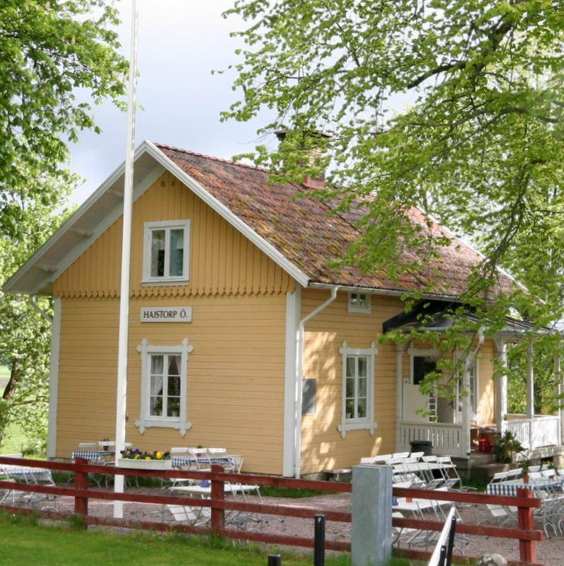 Hajstorp Slusscafé & Vandrarhem, Göta Kanal