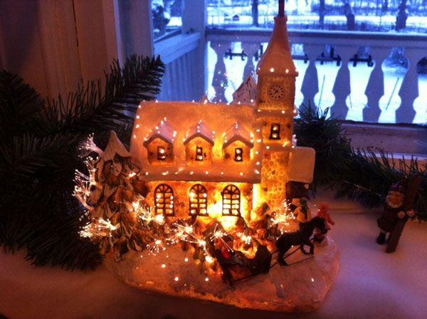 Julutställning i herrgårdsmiljö