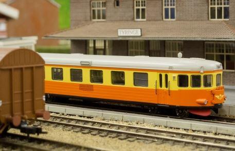 Foto Ulf Wennström, Die Modelleisenbahn – eine der größten in Schweden