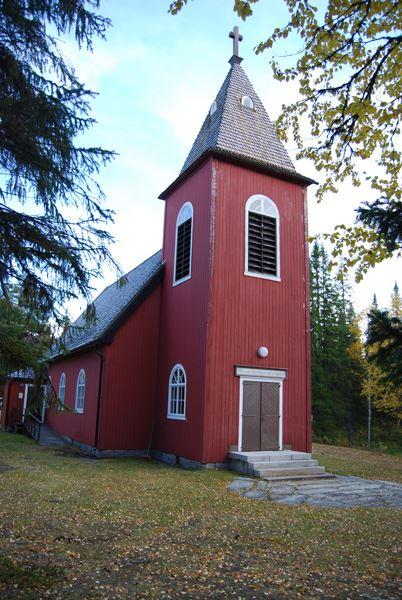 © Hemavan Tärnaby PR-förening, Vojtjajaure chapel