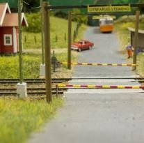 Foto Ulf Wennström, Visning av modelljärnvägen i Hässleholm