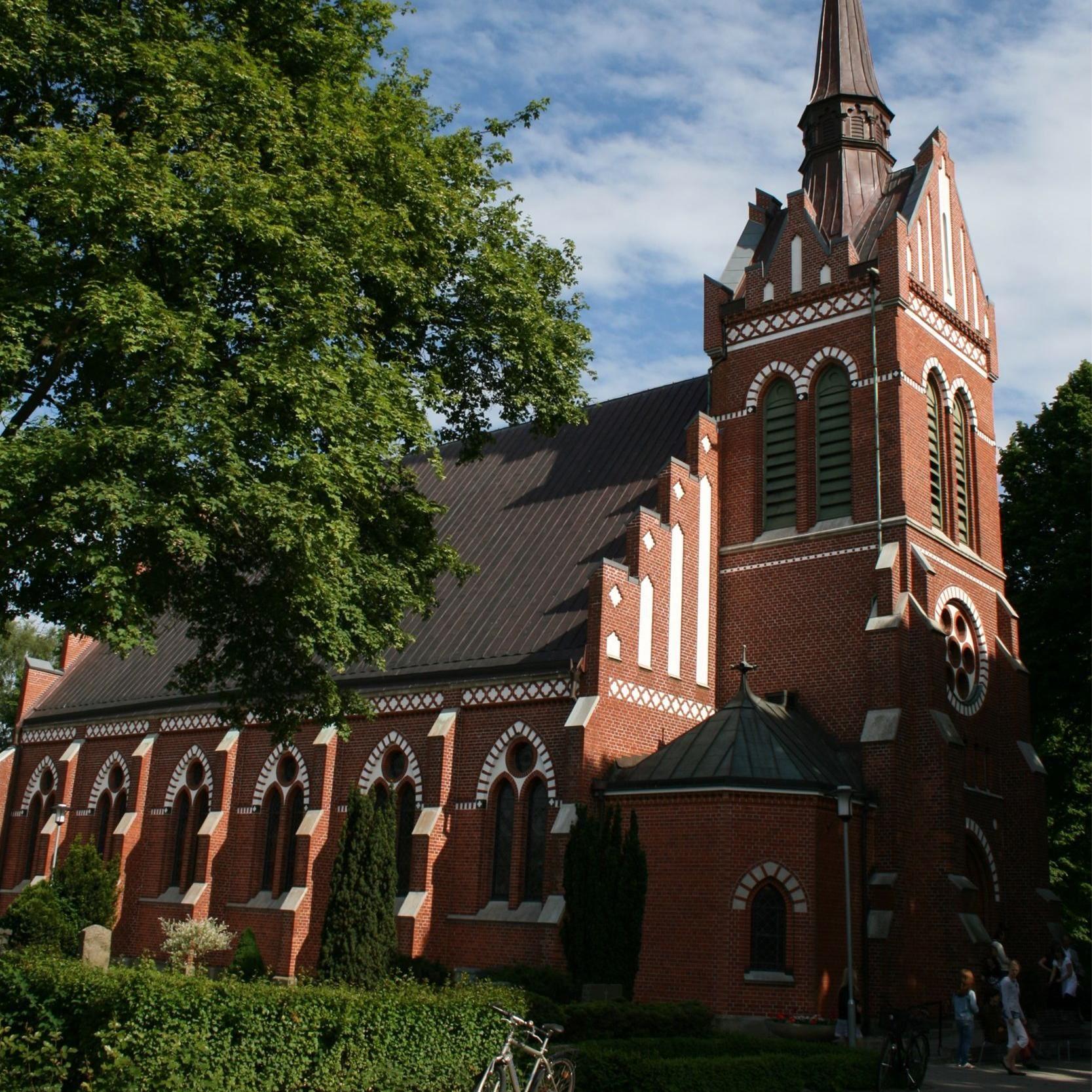 Korsbacka church