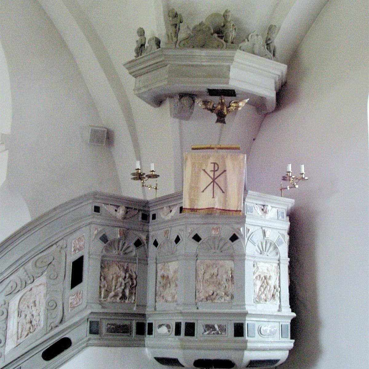 © Kävlinge kommun, Predikstol