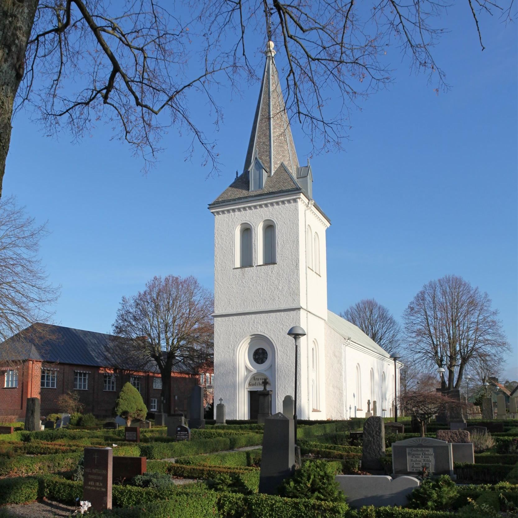 Lackalänga Kirche
