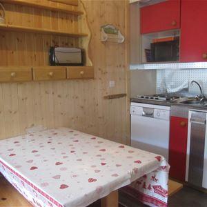Lauzières 619 > studio + Cabine - 3 personnes - 2 Flocons Argent MCI