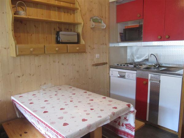 Lauzières 619 > Studio+cabin - 3 Persons - 2 Silver Snowflakes MCI