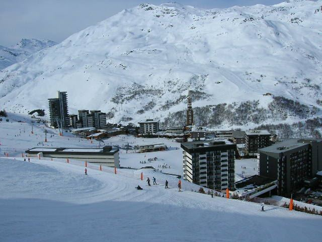 Studio 3 Pers skis aux pieds / COTE BRUNE 509