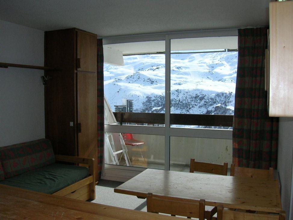 3 Pers Studio ski-in ski-out / CHALLE 431