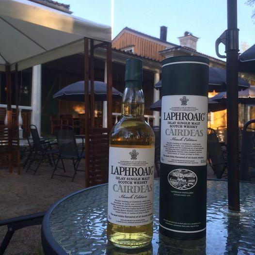 Johan palmborg, Whiskypaket eller weekendpaket på Forsbacka wärdshus