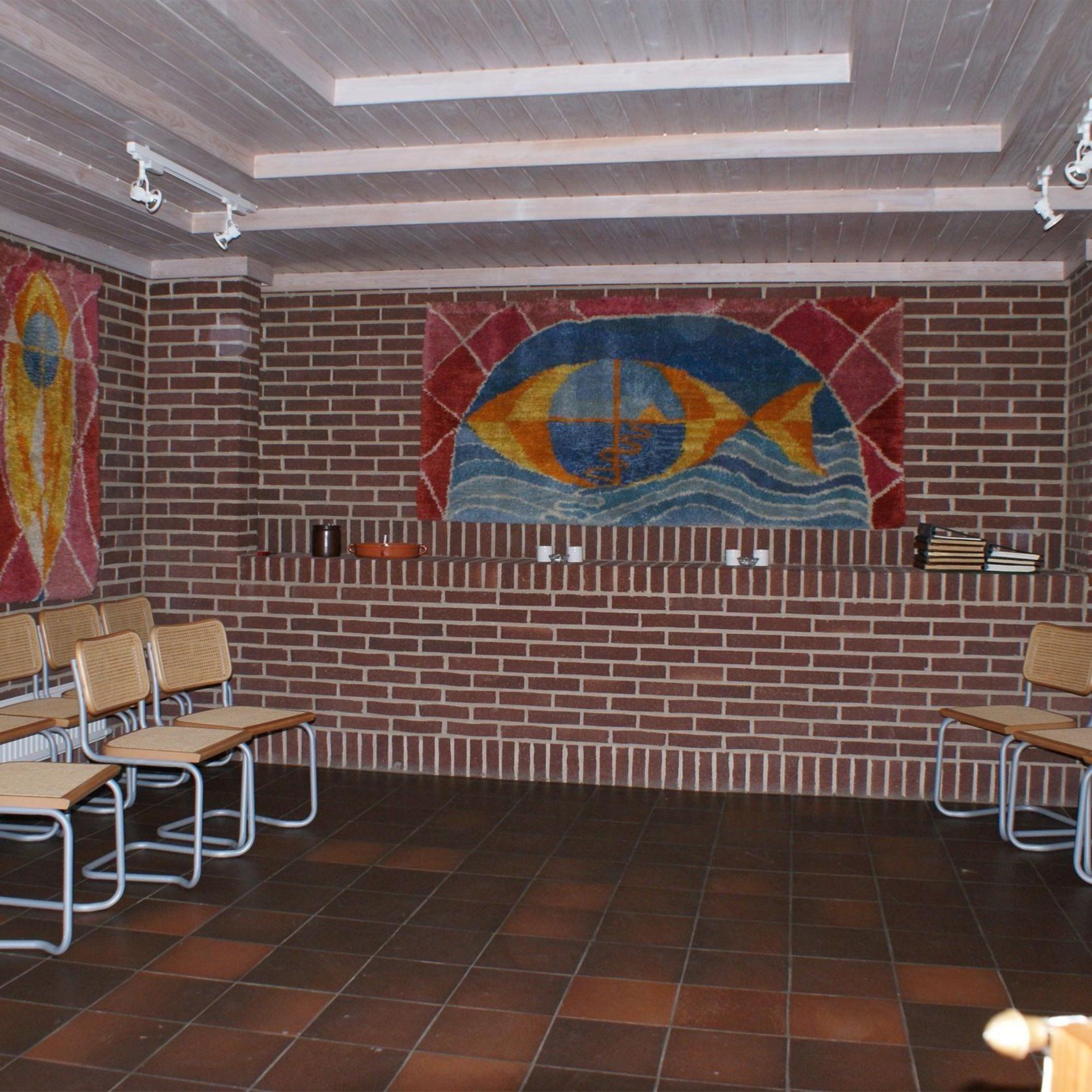 © Kävlinge församling, Inne i kapellet