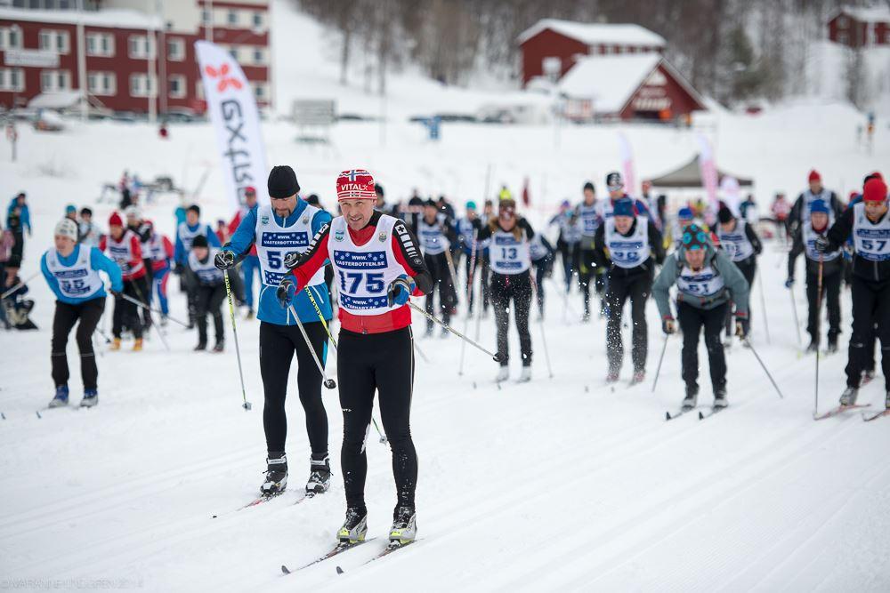 Marianne Lindgren,  © Marianne Lindgren, Cross-country skiing race Fjällvindenloppet